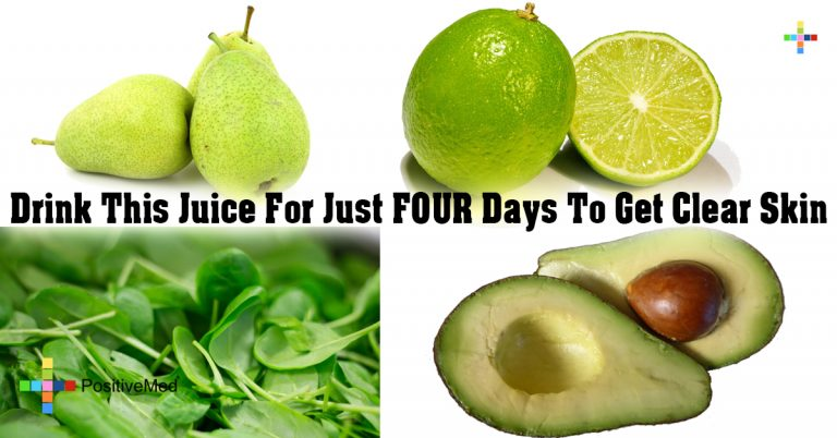 Drink This Juice For Just FOUR Days To Get Clear Skin