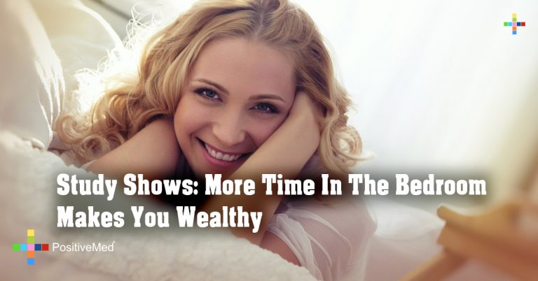 Study Shows: More Time In The Bedroom Makes You Wealthy