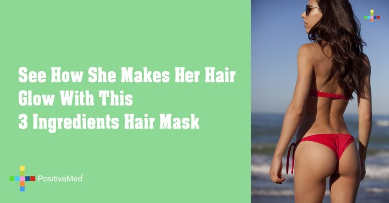 See How She Makes Her Hair Glow With This 3 Ingredients Hair Mask
