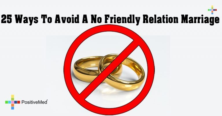 25 Ways To Avoid A No Friendly Relation Marriage