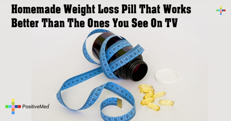 Homemade Weight Loss Pill That Works Better Than The Ones You See On TV