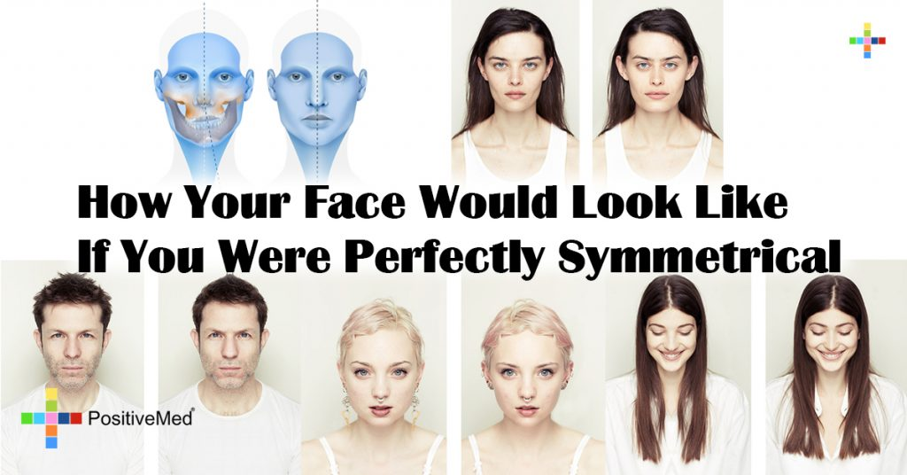 How Your Face Would Look Like If You Were Perfectly Symmetrical