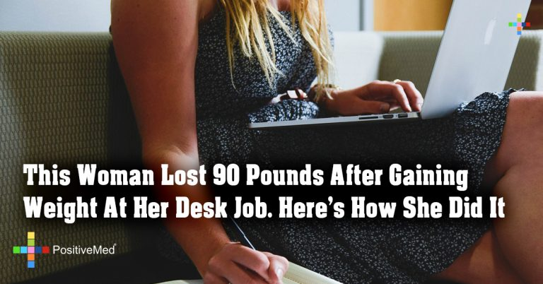 This Woman Lost 90 Pounds After Gaining Weight At Her Desk Job. Here's How She Did It