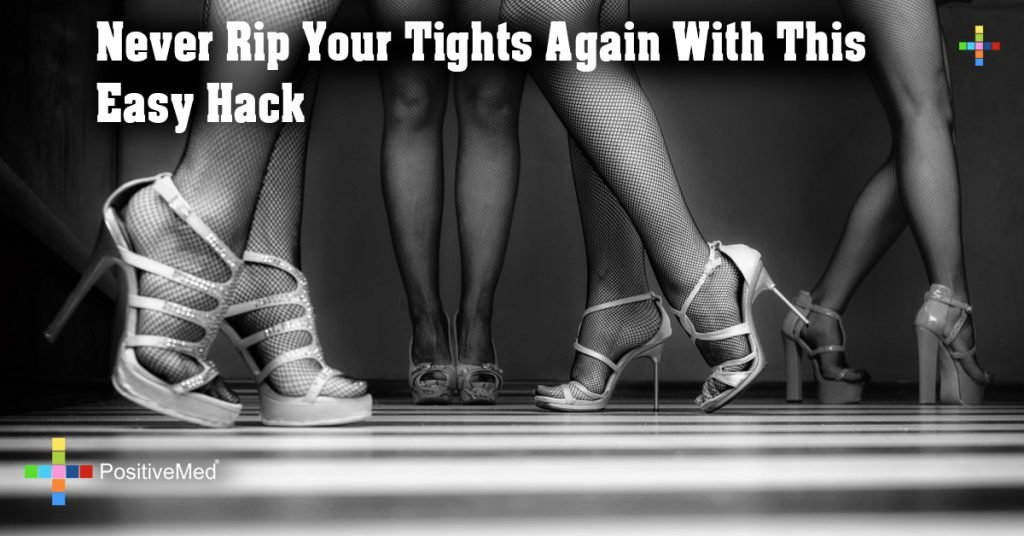 Never Rip Your Tights Again With This Easy Hack