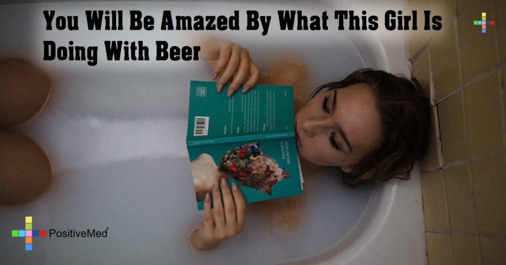 You Will Be Amazed By What This Girl Is Doing With Beer