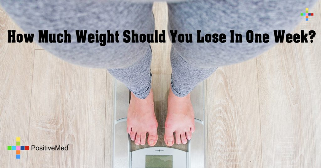 How Much Weight Should You Lose In One Week?