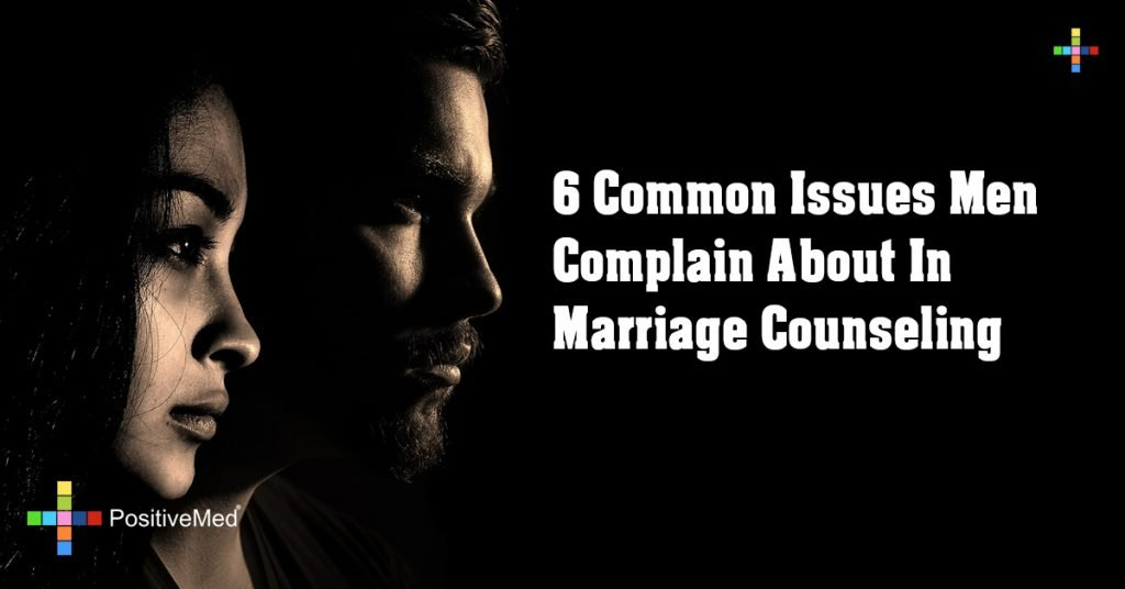 6 Common Issues Men Complain About In Marriage Counseling
