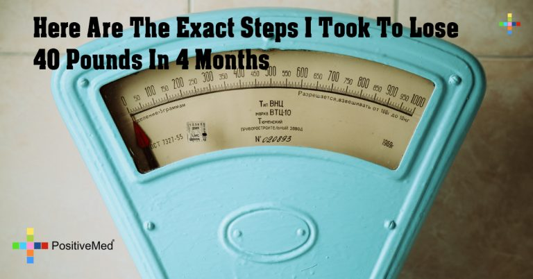 Here Are The Exact Steps I Took To Lose 40 Pounds In 4 Months