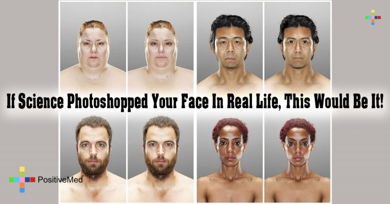 If Science Photoshopped Your Face In Real Life, This Would Be It!
