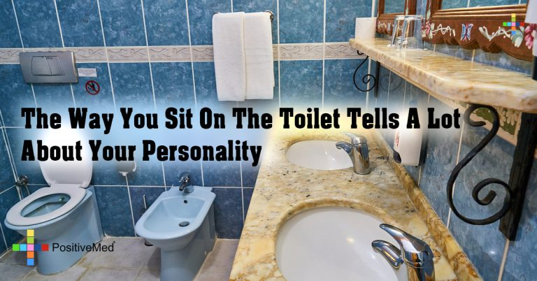 The Way You Sit On The Toilet Tells A Lot About Your Personality