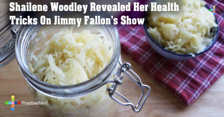 Shailene Woodley Revealed Her Health Tricks On Jimmy Fallon's Show