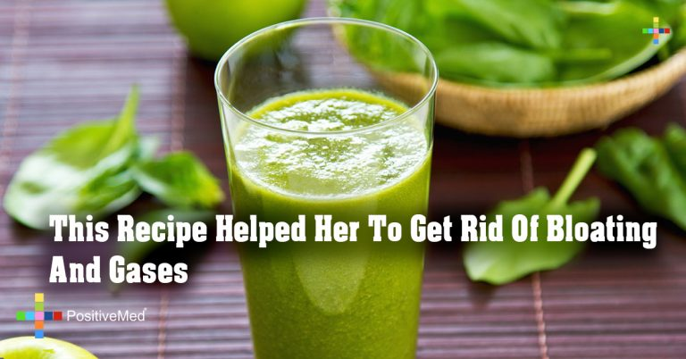 This Recipe Helped Her To Get Rid Of Bloating And Gases