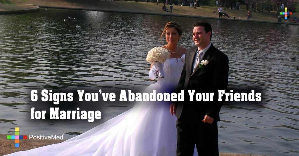 6 Signs You've Abandoned Your Friends for Marriage
