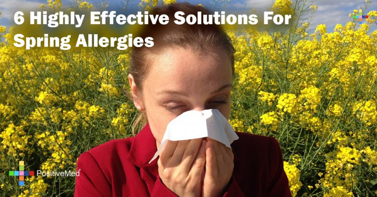 6 Highly Effective Solutions For Spring Allergies