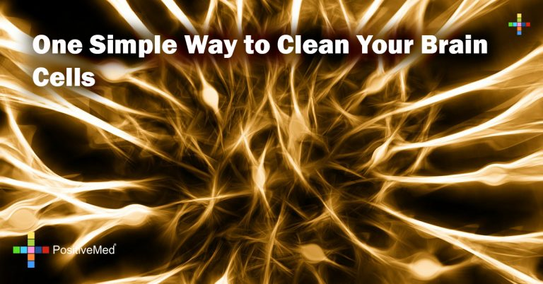 One Simple Way to Clean Your Brain Cells
