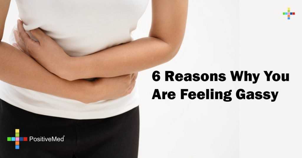 6 Reasons Why You Are Feeling Gassy