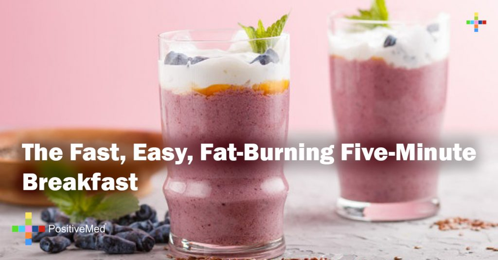 The Fast, Easy, Fat-Burning Five-Minute Breakfast