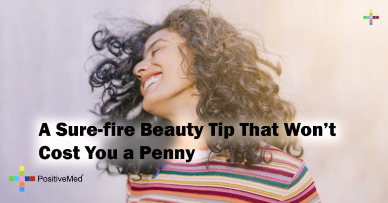 A Sure-fire Beauty Tip That Won't Cost You a Penny