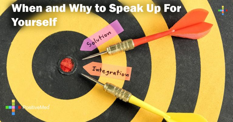 When and Why to Speak Up For Yourself