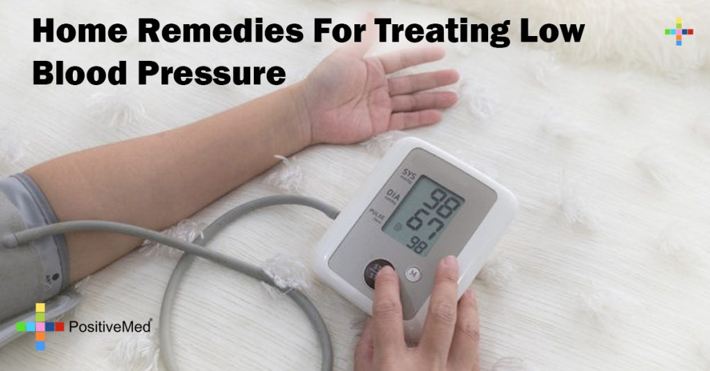 Home Remedies For Treating Low Blood Pressure
