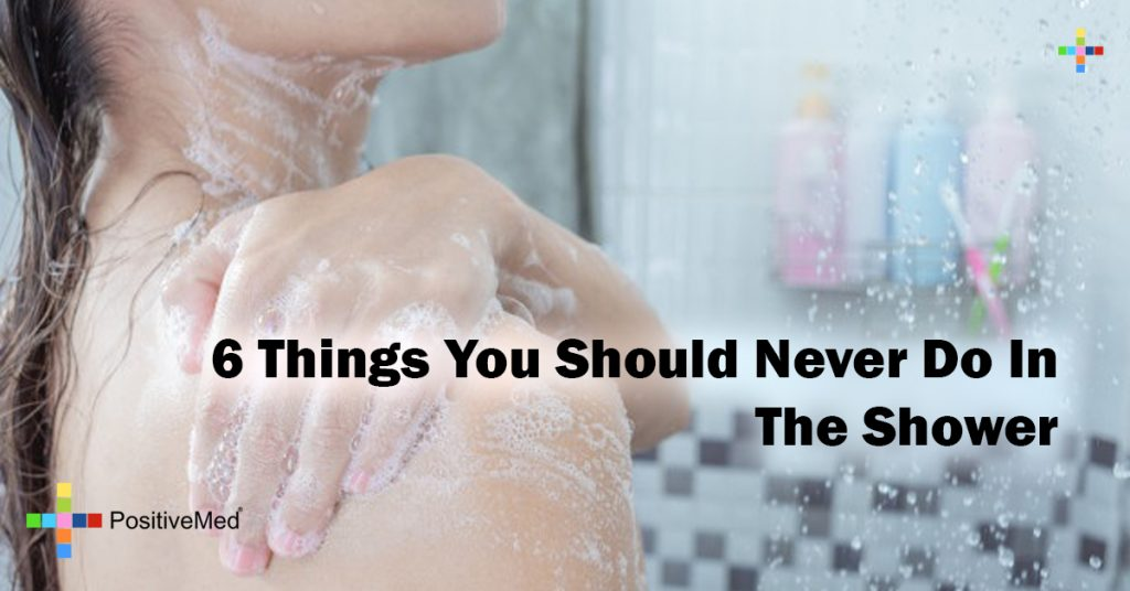 6 Things You Should Never Do In The Shower