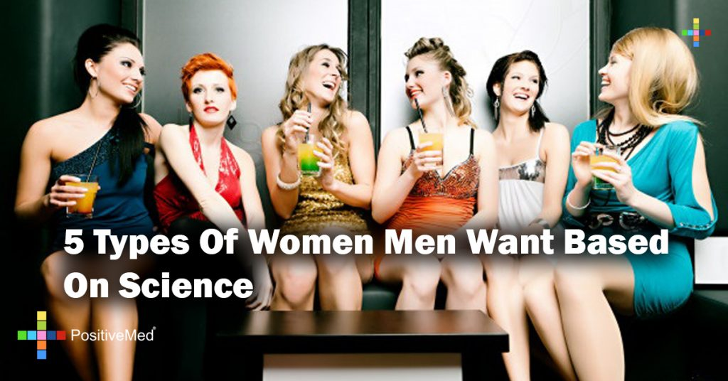 5 Types Of Women Men Want Based On Science