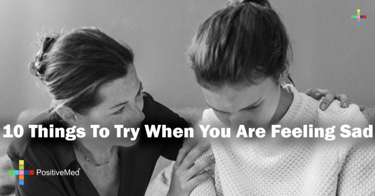 10 Things To Try When You Are Feeling Sad