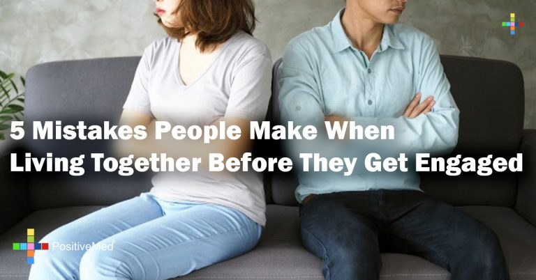 5 Mistakes People Make When Living Together Before They Get Engaged