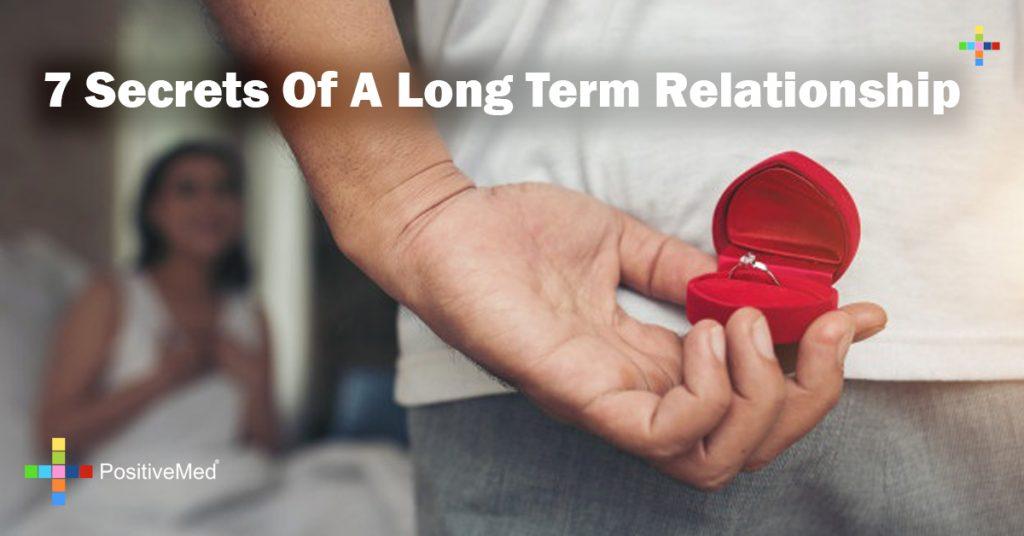 7 Secrets Of A Long Term Relationship