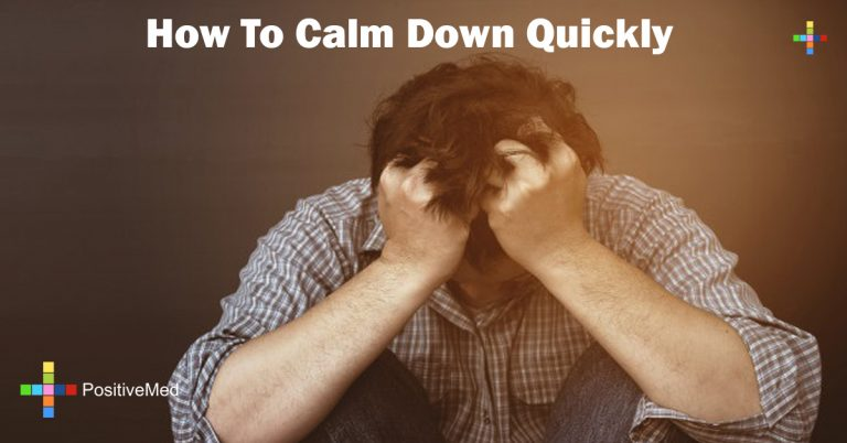 How To Calm Down Quickly