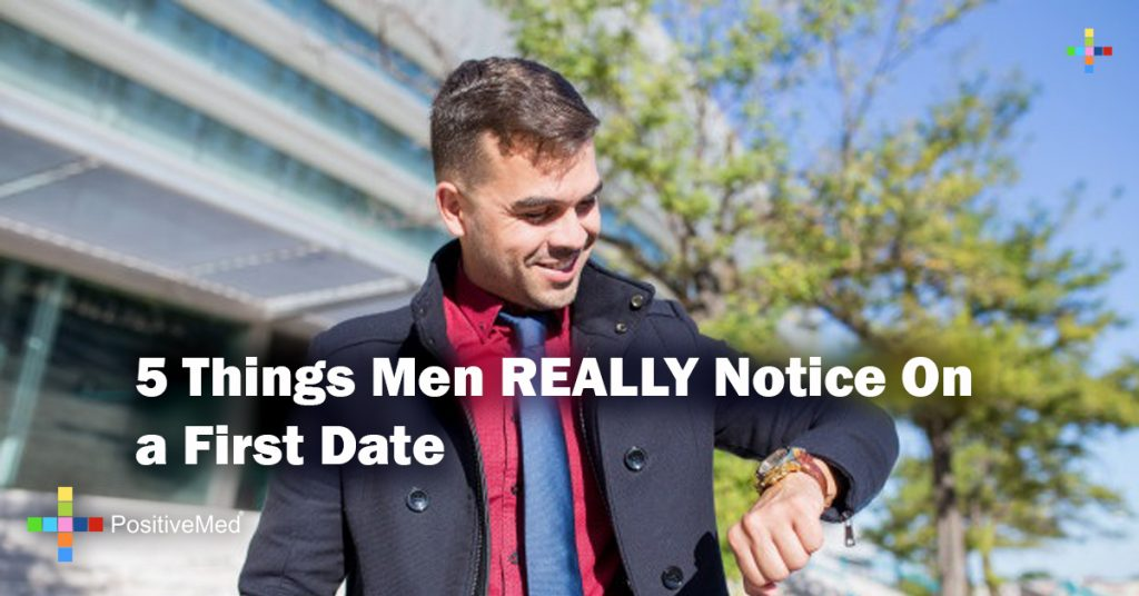 5 Things Men REALLY Notice On a First Date