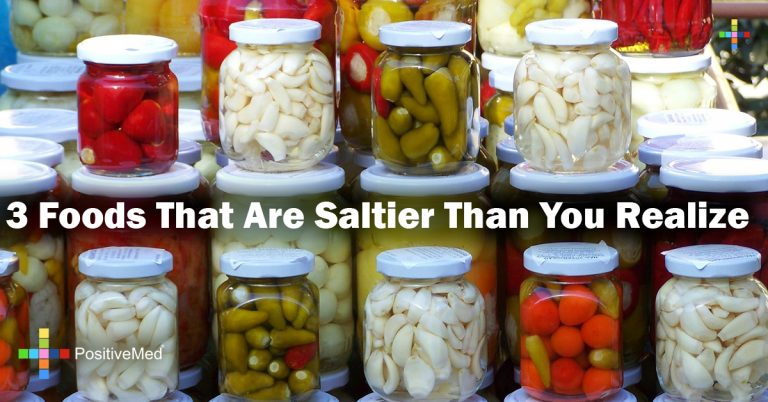 3 Foods That Are Saltier Than You Realize