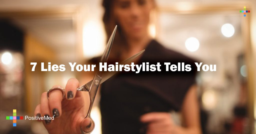 7 Lies Your Hairstylist Tells You