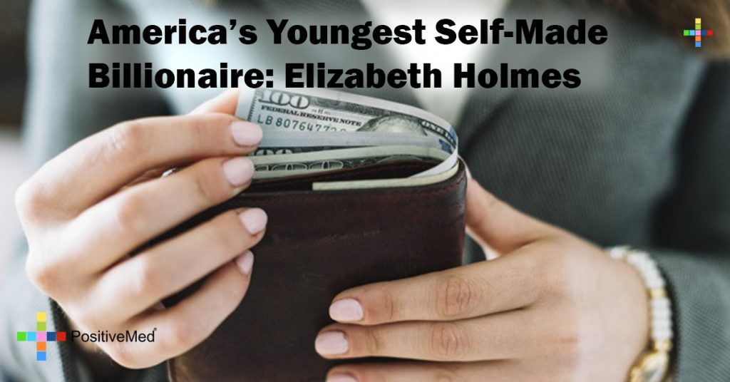 America's Youngest Self-Made Billionaire: Elizabeth Holmes
