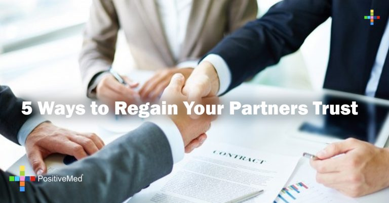 5 Ways to Regain Your Partners Trust