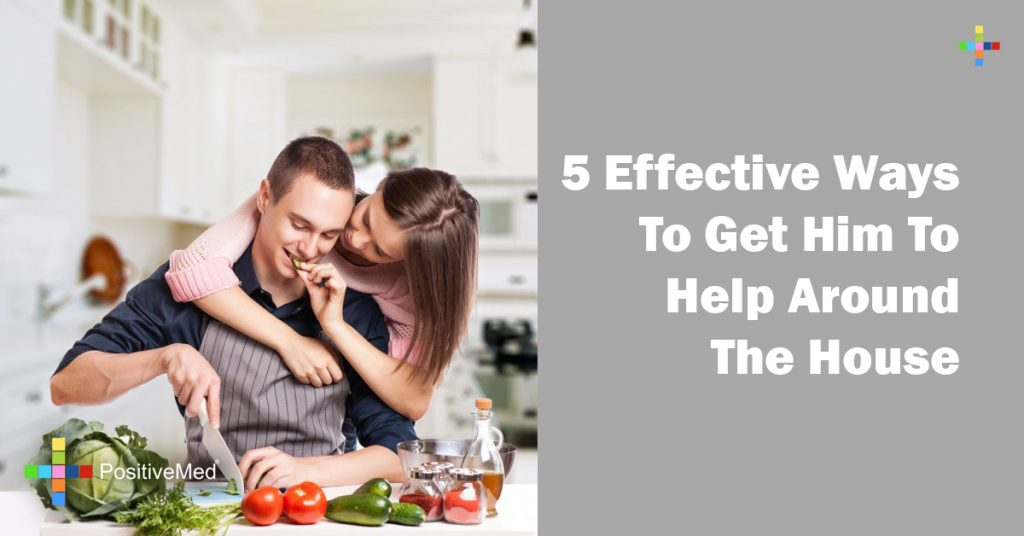 5 Effective Ways To Get Him To Help Around The House