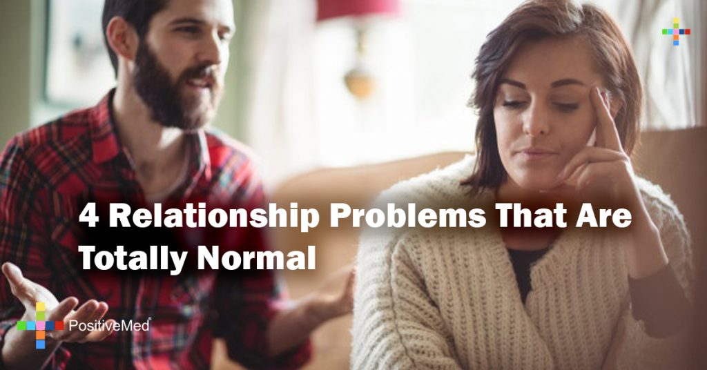 4 Relationship Problems That Are Totally Normal