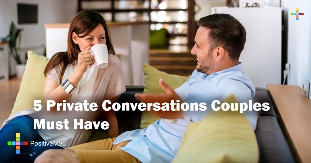 5 Private Conversations Couples Must Have