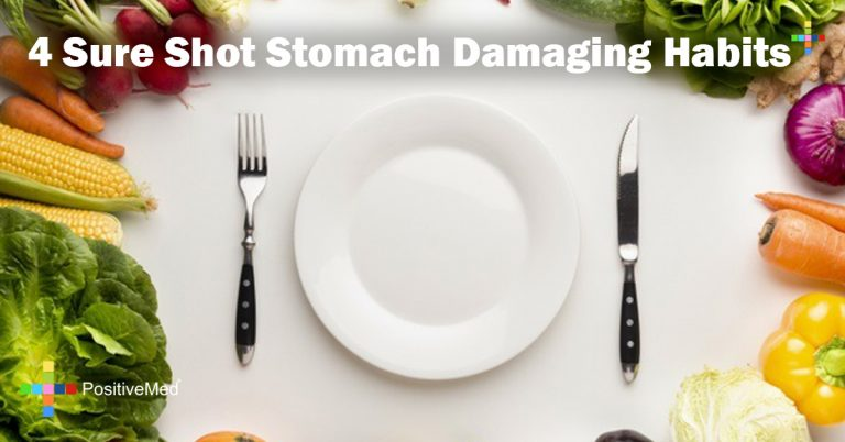 4 Sure Shot Stomach Damaging Habits