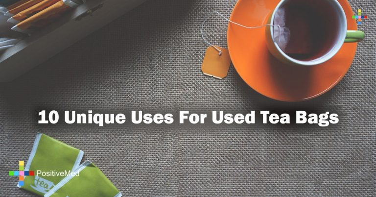 10 Unique Uses For Used Tea Bags