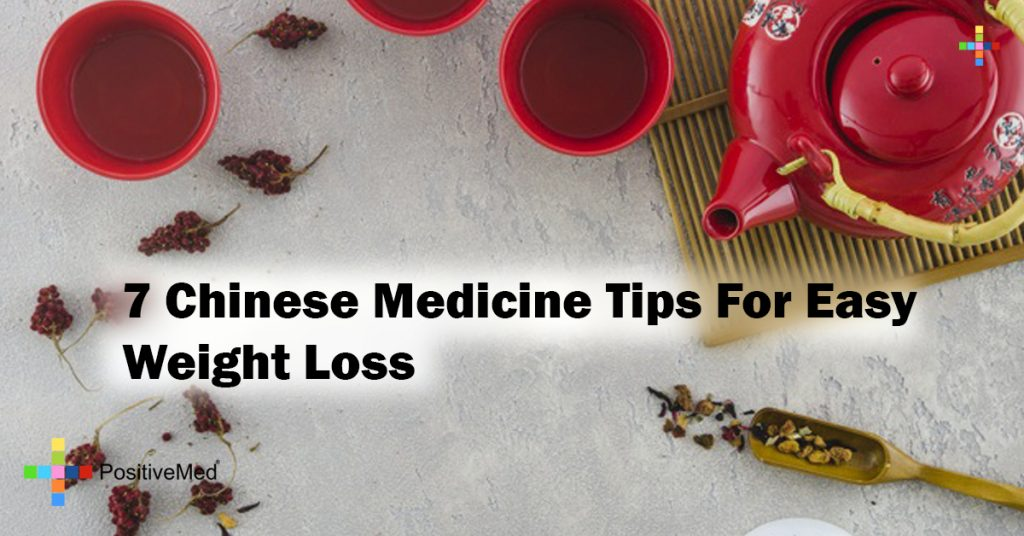 7 Chinese Medicine Tips For Easy Weight Loss