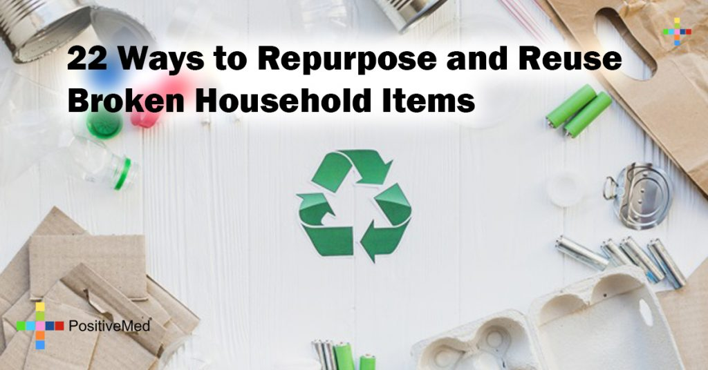 22 Ways to Repurpose and Reuse Broken Household Items
