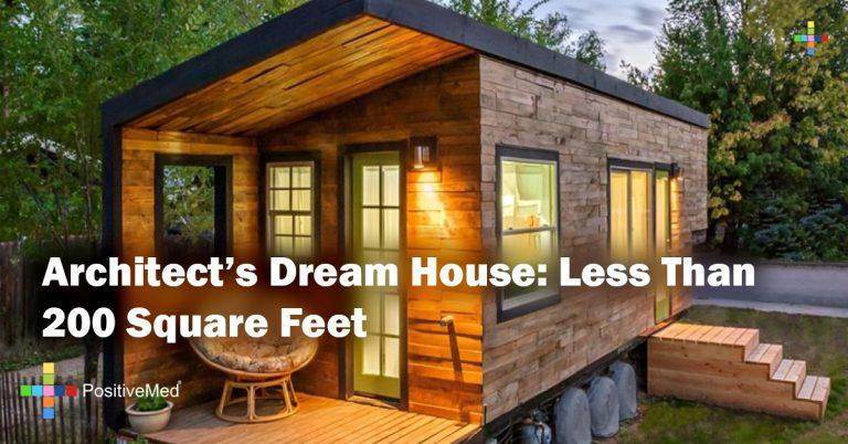 Architect's Dream House: Less Than 200 Square Feet