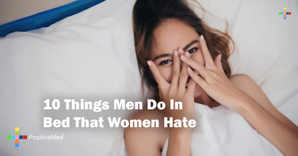 10 Things Men Do In Bed That Women Hate