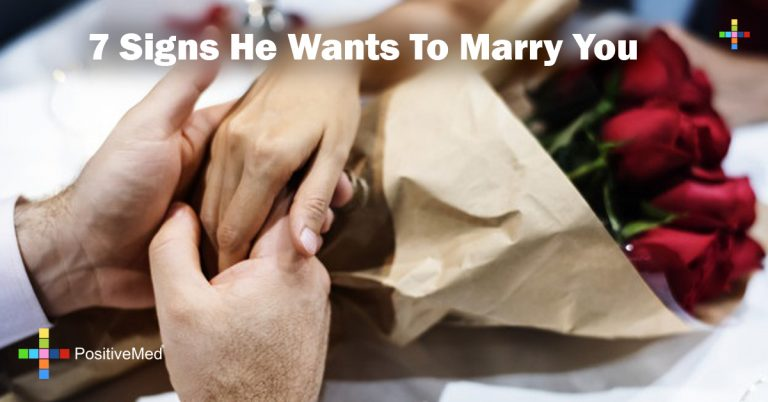 7 Signs He Wants To Marry You