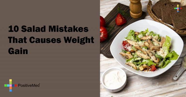 10 Salad Mistakes That Causes Weight Gain
