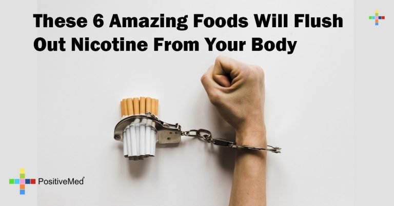 These 6 Amazing Foods Will Flush Out Nicotine From Your Body