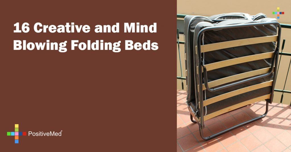 16 Creative and Mind Blowing Folding Beds