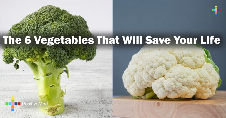 The 6 Vegetables That Will Save Your Life