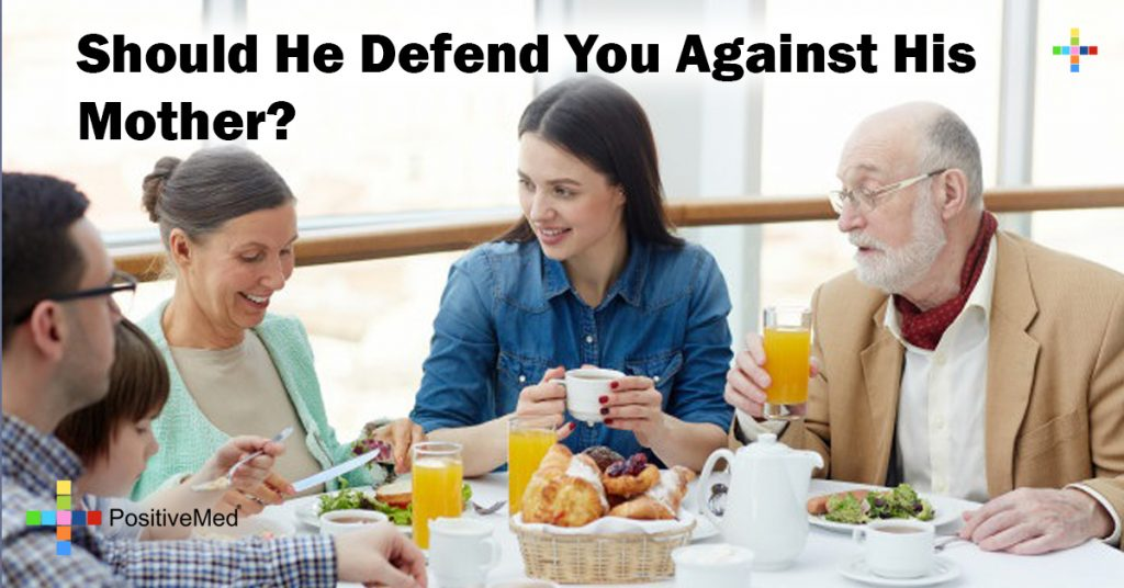 Should He Defend You Against His Mother?